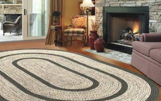Схемы ковров крючком: изучаем технику вязания фигурных ковриков