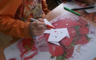 Оригами кошка: учимся делать любимых питомцев из бумаги