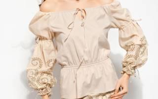 Выкройка блузы-крестьянки и мастер-класс по пошиву базового варианта