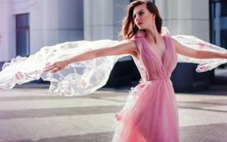 Платье из фатина: красивый вариант для фотосессии