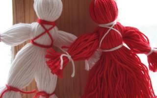 Мотанки своими руками: обереги из ниток для самых близких