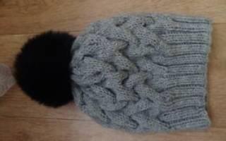 Шапка-коса с тенью: видео мастер-классы для новичков в вязании