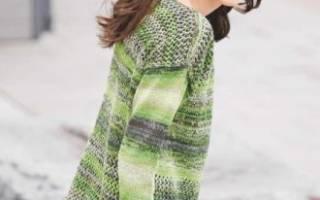 Схемы женского пуловера спицами: выкройки и пошаговые фото