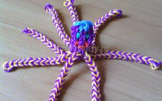 Осьминог из резинок: две основные техники плетения