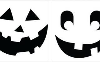 Светильник из тыквы: идеи украшения дома для хэллоуина