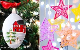 Новогодние елочки своими руками: маленькие поделки для украшения дома