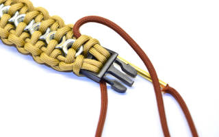 Схемы плетения паракорда: учимся делать стильные браслеты