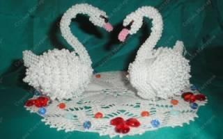 Лебедь из бисера: разбираем подробный урок по плетению