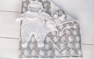 Комплект для новорожденного: для мальчика создаем лучший наряд
