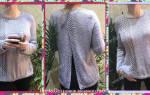 Платье с открытой спиной: выкройки и схемы вязания спицами