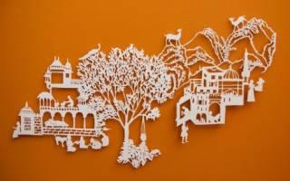 Cхемы киригами для начинающих: делаем необычные подарки для самых близких