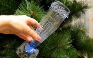 Ваза из пластиковой бутылки своими руками: используем ненужное в декоре дома