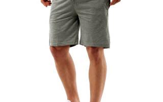Выкройка мужских шорт на весенне-летний период