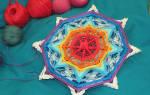 Мандала своими руками из ниток: священный символ божественной энергии