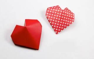 Валентинка оригами своими руками: основы популярной техники