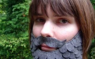 Как сделать бороду для гнома: четыре варианта для веселой вечеринки