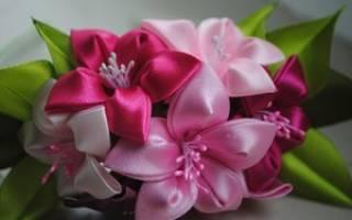 Канзаши: новые идеи для цветочного мастерства