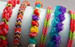 Кольца из резинок: яркие украшения для юных модниц