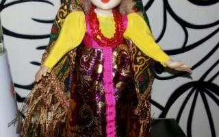Мастер-класс по изготовлению куклы из полимерной глины