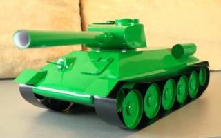 Оригами танк из бумаги: величественные т-90 и т-34 своими руками