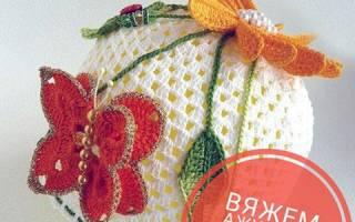Ажурная шапочка для девочки крючком: схемы и описание