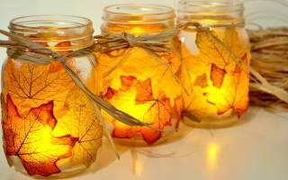Осенние поделки своими руками на любой вкус