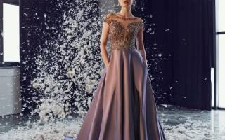 Платье с вышивкой: интересные варианты изделий