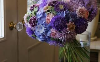 Букет из цветов своими рукам: возможные варианты исполнения