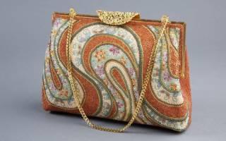 Сумка из бисера: учимся стильно украшать изделия