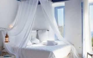 Балдахин своими руками: делаем защитную шторку над кроватью