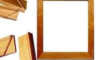 Рама для картин своими руками из дерева и потолочной плитки