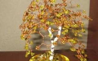 Мастер-класс по листьям из бисера: создаем себе осеннее настроение