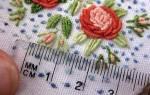 Вышивка по вязаному полотну: любимые теплые вещи приобретут свою изюминку