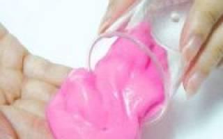 Как сделать умный пластилин своими руками: интересная игрушка для всей семьи