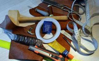 Выкройка кожаной сумки для создания модных образов