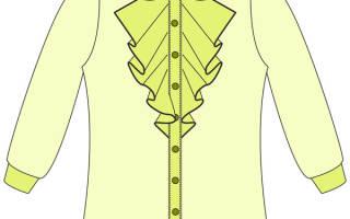 Выкройка блузки для девочки: делаем милую вещицу для гардероба дочери