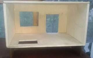 Кукольный домик своими руками: делаем жилье для игрушек
