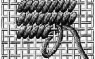 Техника вышивки гобелена: материалы, инструменты и способы