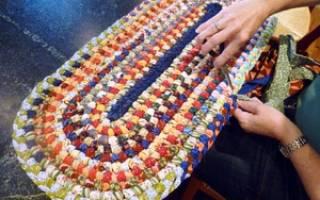 Утилитарное рукоделие: коврики своими руками для дома и дачи