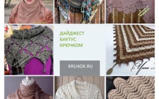 Бактус крючком: схема для вязания необычной обновки гардероба