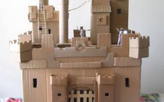 Замок из картона своими руками: универсальный материал для творчества
