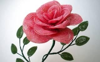 Композиции цветов из бисера: создаем красоту за один вечер
