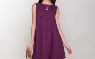 Выкройка платья трапеция: фасоны для разных типов фигуры