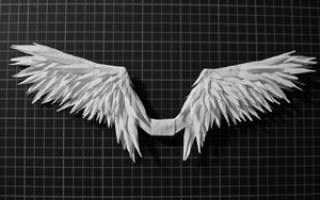 Крылья ангела своими руками: символическое украшение для фотосессии