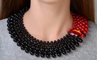 Ожерелье своими руками: рукоделие в украшениях