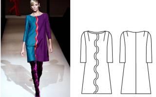 Платье клеш от лифа: понятное описание выкроек