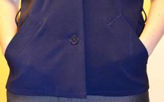 Прорезной карман с листочкой: пошаговая инструкция по пошиву