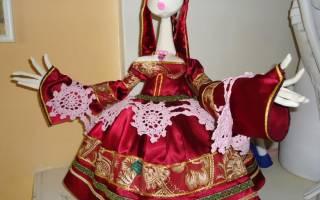 Кукла на чайник своими руками из натуральных материалов
