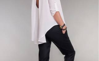 Блузка своими руками: учимся шить дизайнерские вещи