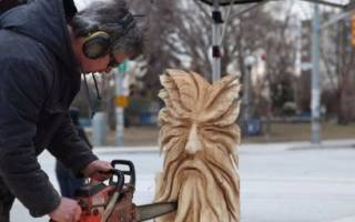 Резьба по дереву бензопилой для начинающих и опытных мастеров